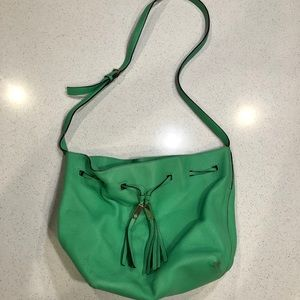 Kate Spade Large Green Bucket Purse